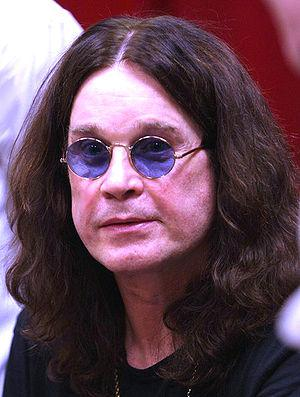 English: Ozzy Osbourne, Prince of Darkness, at...