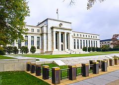 Federal Reserve Building in Washington D.C. - ...