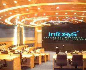 A conference facility at Infosys' Bangalore headquarters (Image courtesy: company website)