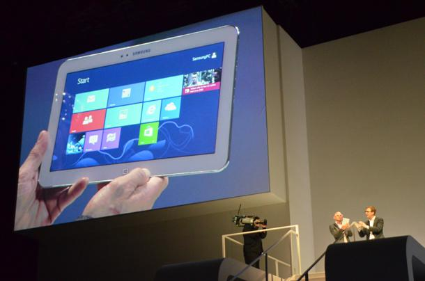 Something Else Revealed At Samsung's Launch Event: Disdain For Windows RT