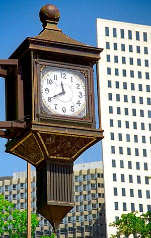 Clock, New Orleans Central Business District