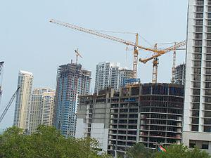 New large-scale building construction in Miami