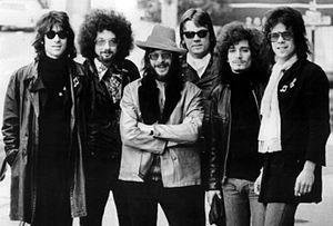 Publicity photo of the J. Geils Band.