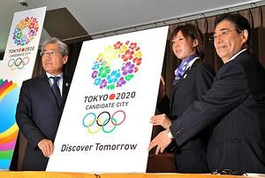 (L-R) President of the Tokyo 2020 bid committe...