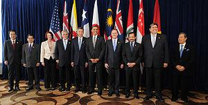 A summit with leaders of the member states of ...