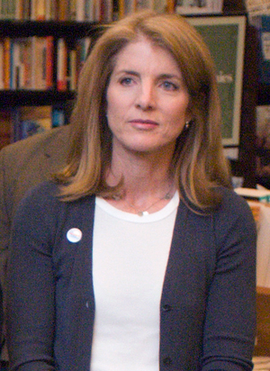 English: Caroline Kennedy at Barnes & Noble Tr...