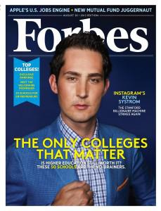Instagram CEO Kevin Systrom (Christian Peacock for FORBES)