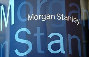 A view of the Morgan Stanley's headquarters in...