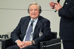 MUNICH, GERMANY - FEBRUARY 04:  George Soros, ...