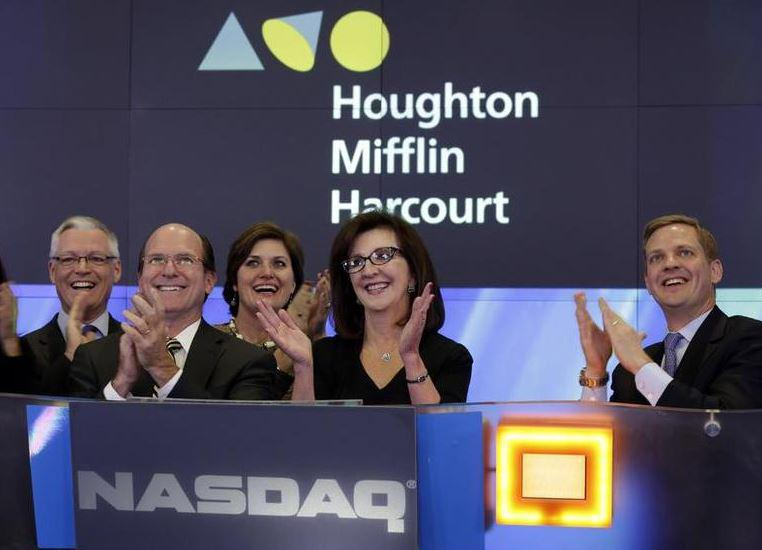 The Ups And Downs Of Education: Houghton Mifflin Flies, Chegg Falls