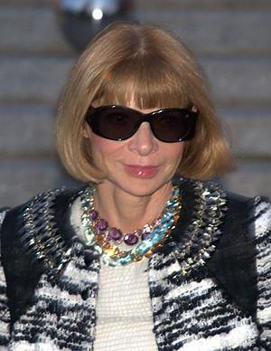English: Anna Wintour at the 2010 Tribeca Film...