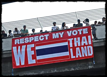 Reds support govt and elections in Thailand - Credit: AdaptorPlug/Flickr