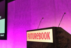 Futurebook podium