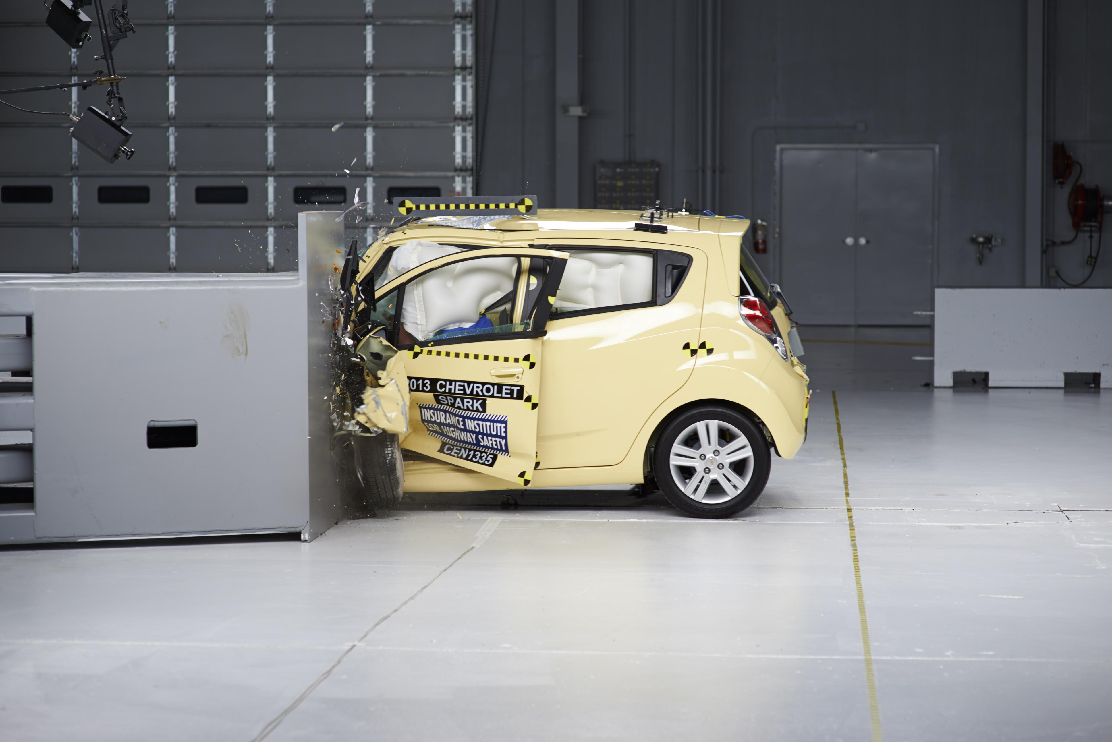 Tiny Cars Get Poor Safety Rating In New Crash Test Study