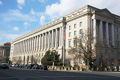 Internal Revenue Service building - Washington...