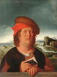 Paracelsus, a leading physician of the Swiss Renaissance. Image via Wikipedia.
