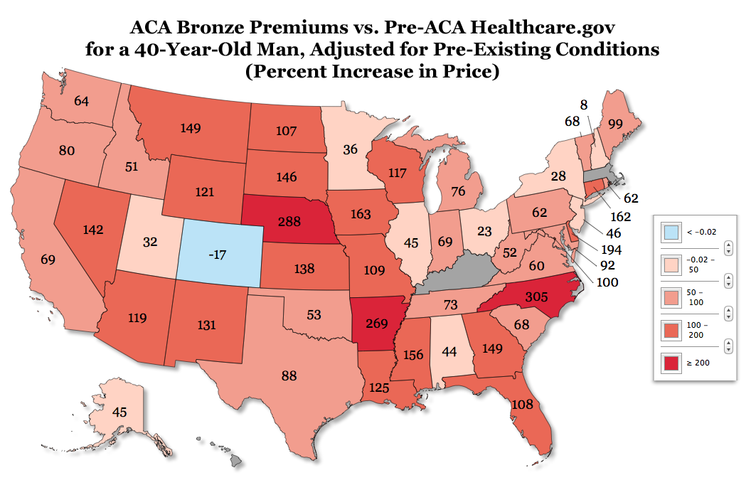 Double Down: Obamacare Will Increase Avg. Individual-Market Insurance Premiums By 99% For Men ...