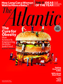 Cover of the July/August 2013 issue of The Atlantic