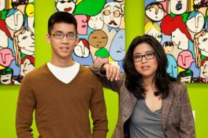 Aaron Cheung and Adora Cheung, cofounders of Homejoy