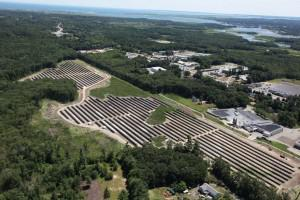 In December, Power REIT purchased the land under the 5.7MW True North Solar Farm in Salisbury, MA. Photo Source: Power REIT