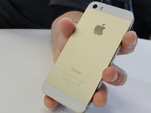 New iPhone 5S will come in a gold color as wel...