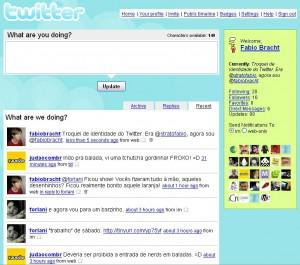 Twitter in 2007 - More functionality arises but trends, images, videos are not there yet.