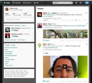 Today's version of Twitter uses richer content, with images and video featuring prominently.