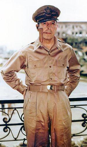 General of the Army Douglas MacArthur smoking ...