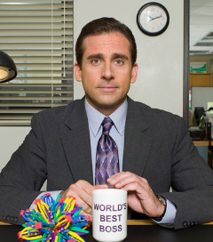 As 'The Office' Closes Its Doors, Management Lessons From The World's Best Boss, Michael Scott