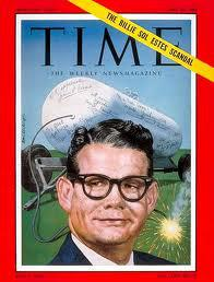 Billie Sol Estes on the cover of Time magazine in 1962