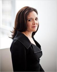 Image representing Sheryl Sandberg as depicted...