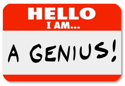 http://www.dreamstime.com/royalty-free-stock-photo-hello-i-genius-nametag-expert-brilliant-thinker-red-words-might-be-worn-very-smart-person-someone-who-image31918805