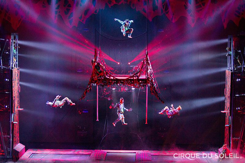 "Zombie Jamboree: The ""Thriller"" scene from Michael Jackson One (photo courtesy of Cirque du Soleil)."