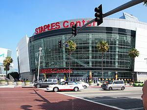 Staples Center: The site of the 56th Annual Grammy Awards in January.