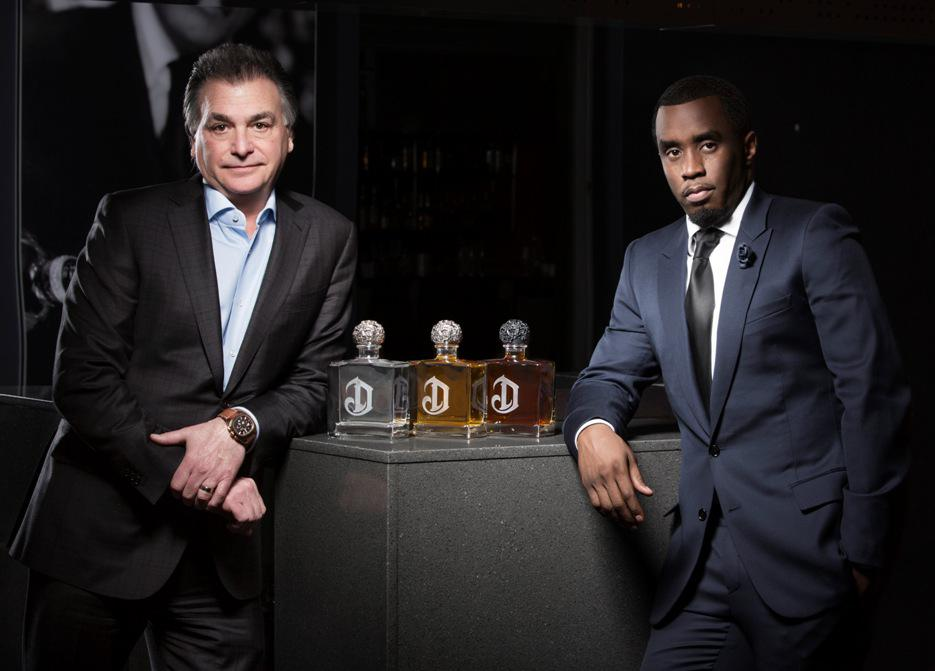 Diddy Did It, Again: Hip-hop's richest man is teaming up with Diageo on tequila.