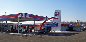 English: TravelCenters of America truck stop o...