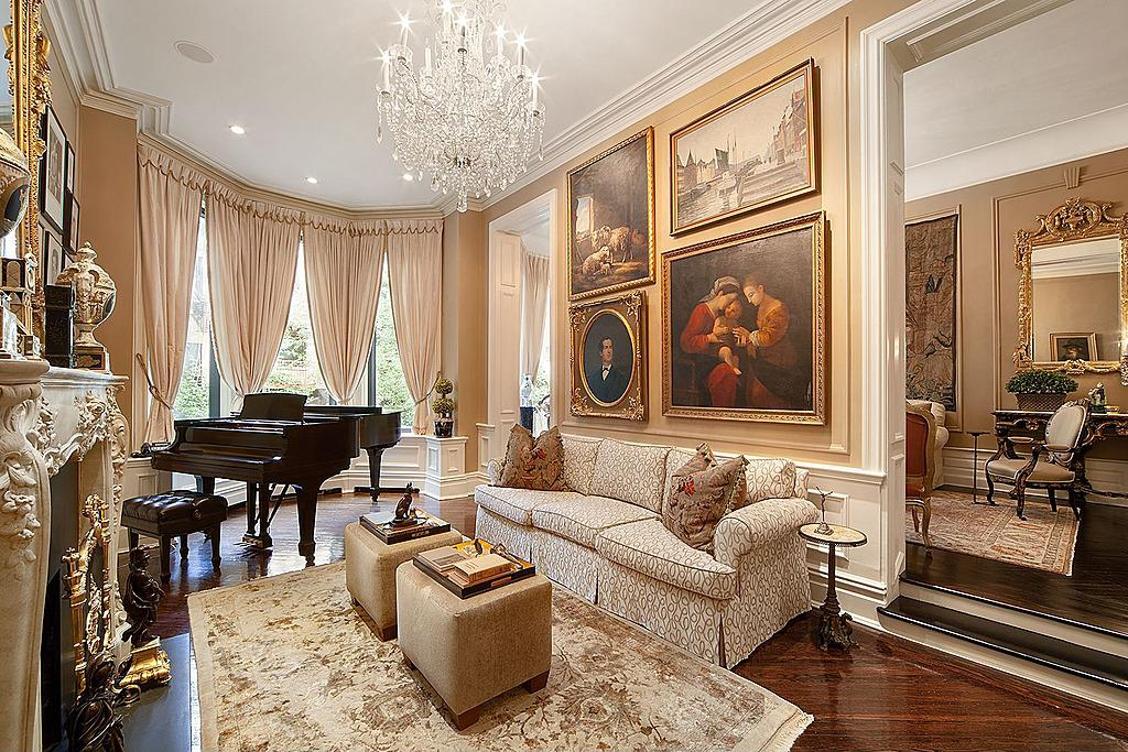 Singer Michael Feinstein Lists Double Brownstone On Upper