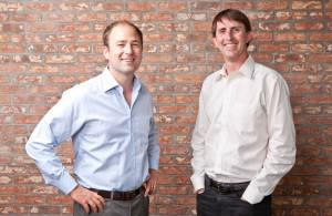 ConsultingMD Founders Owen Tripp and Rusty Hofmann (right)